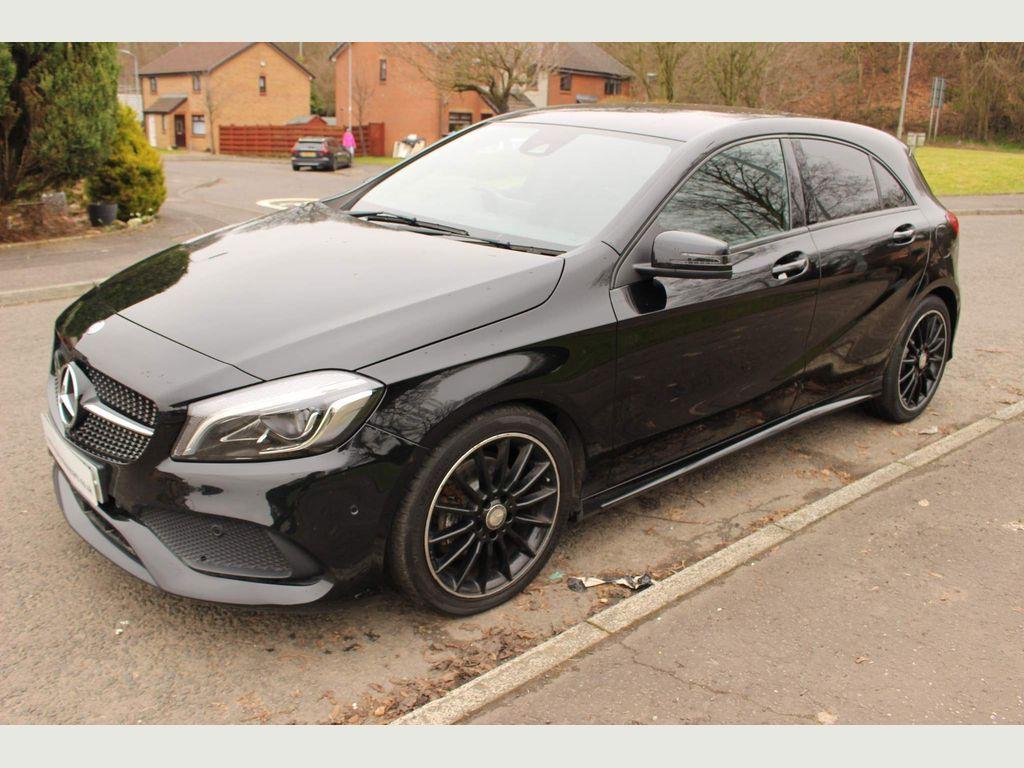 Mercedes-Benz A Class Hatchback 1.5 A180d AMG Line (Premium) (s/s) 5dr