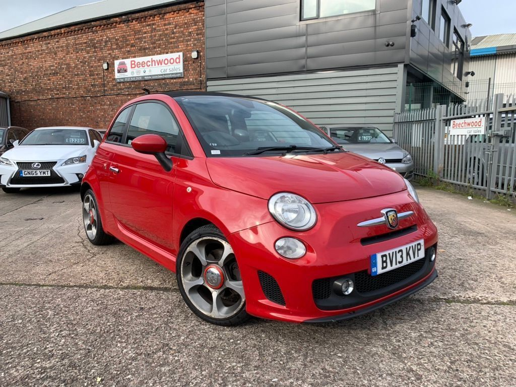 Abarth 500C Convertible 1.4 T-Jet 2dr