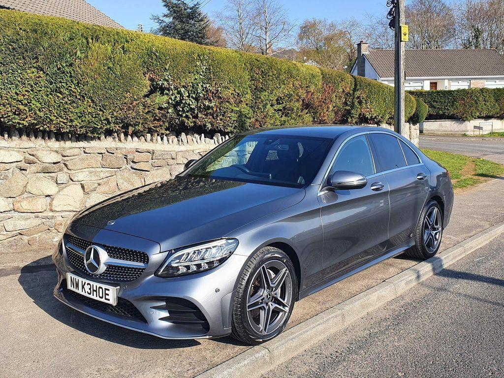 Mercedes-Benz C Class Saloon 2.0 C220d AMG Line G-Tronic+ (s/s) 4dr