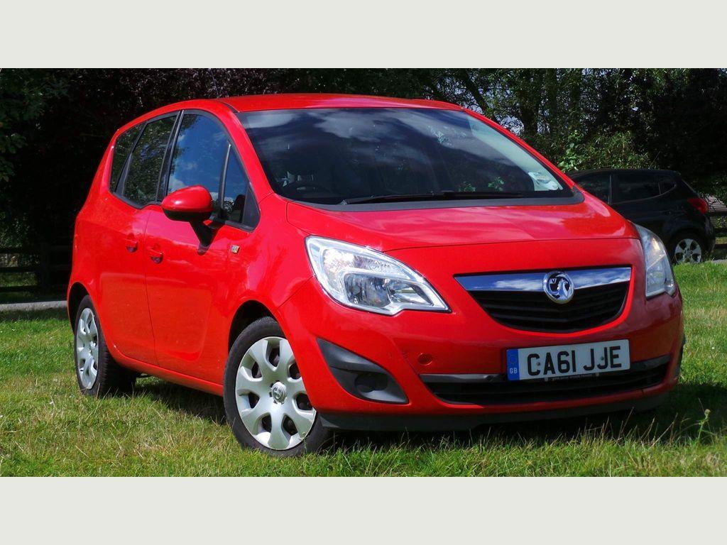 Vauxhall Meriva MPV 1.4 16V Exclusiv 5dr (a/c)