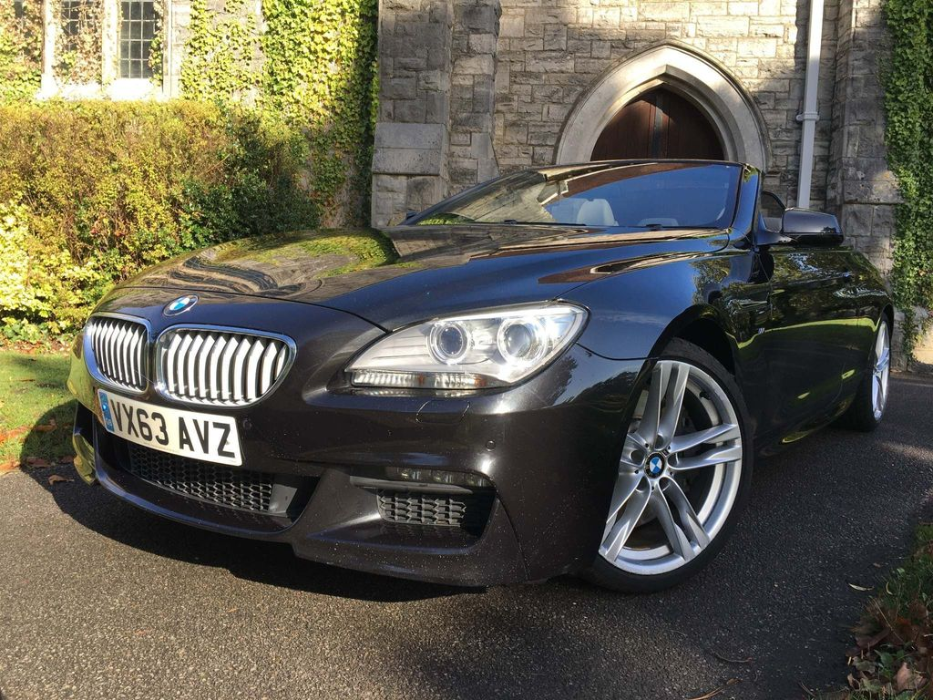 BMW 6 Series Convertible 4.4 650i M Sport (s/s) 2dr