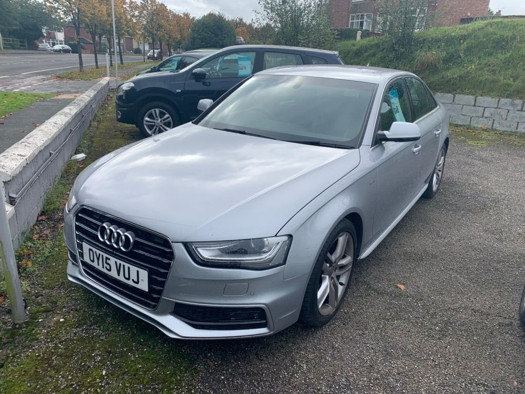 Audi A4 Saloon 2.0 TDI S line (s/s) 4dr