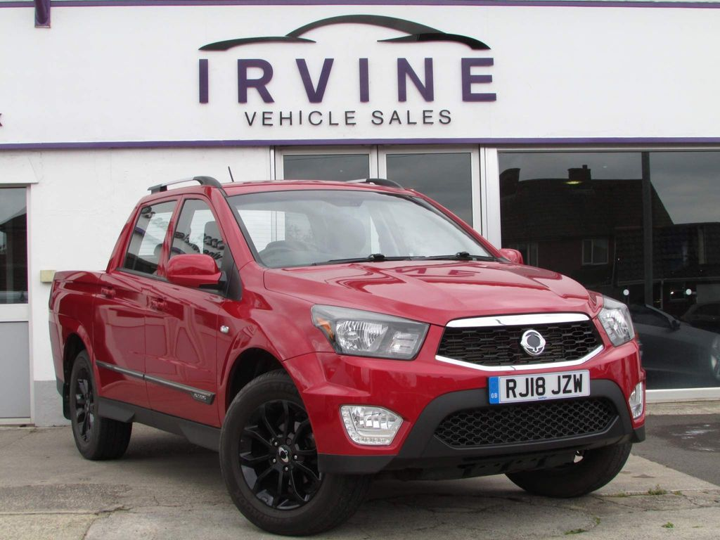 SsangYong Musso Pickup 2.2 TD EX Double Cab Pickup 4dr