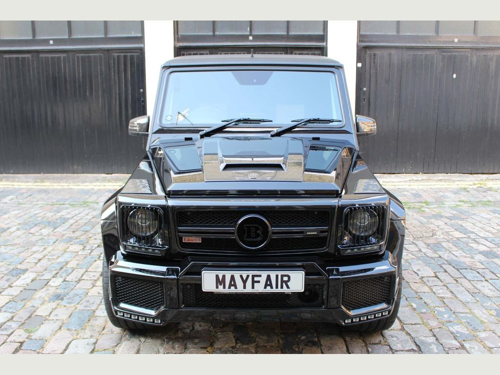 Mercedes-Benz G Class SUV 5.5 BiTurbo V8 AMG Edition 463 SpdS+7GT 4WD (s/s) 5dr