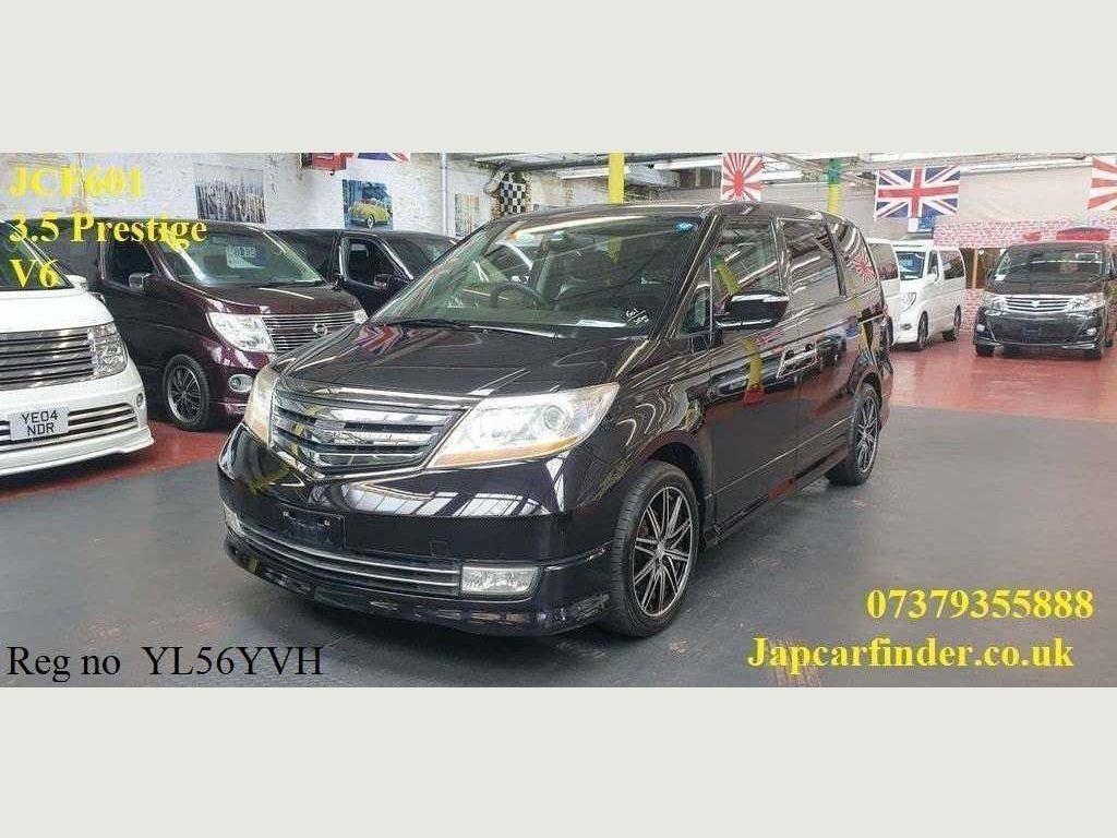 Honda Elysion MPV Mugen V6 3.5 Prestige Captain seats