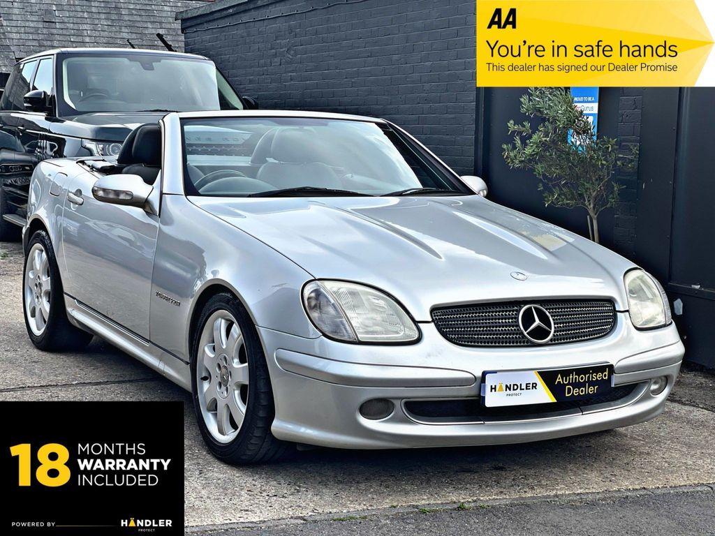Mercedes-Benz SLK Convertible 2.0 SLK200 Kompressor Convertible 2dr Petrol Automatic (231 g/km, 163 bhp)