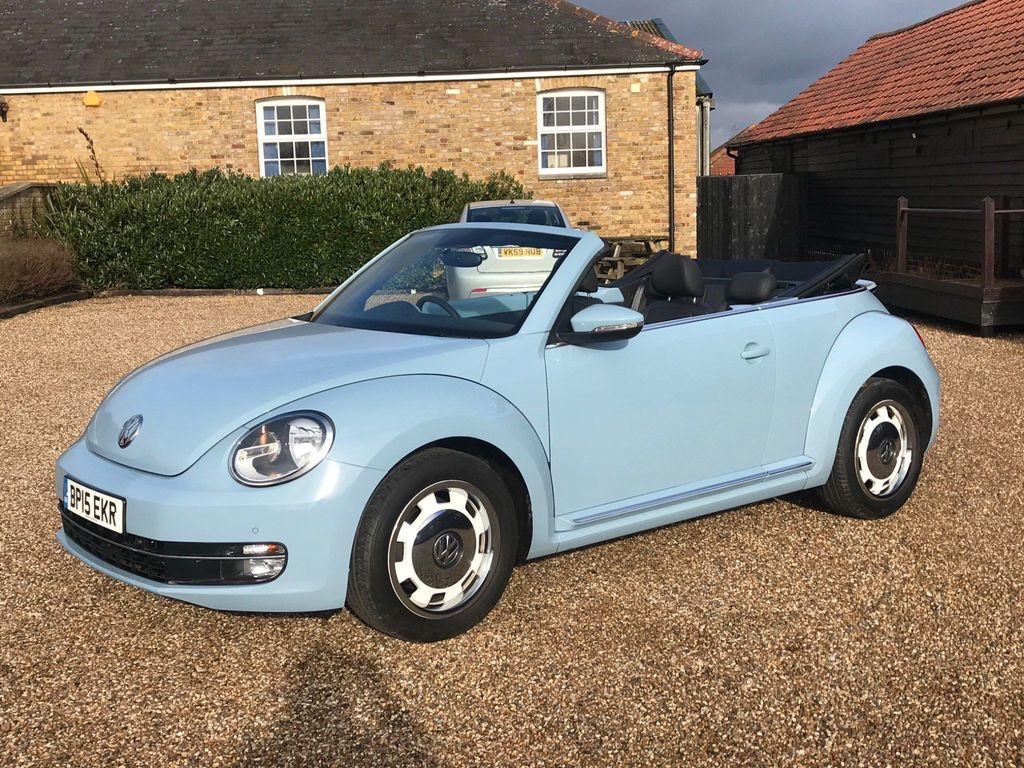 Volkswagen Beetle Convertible 2.0 TDI BlueMotion Tech Design Cabriolet (s/s) 2dr