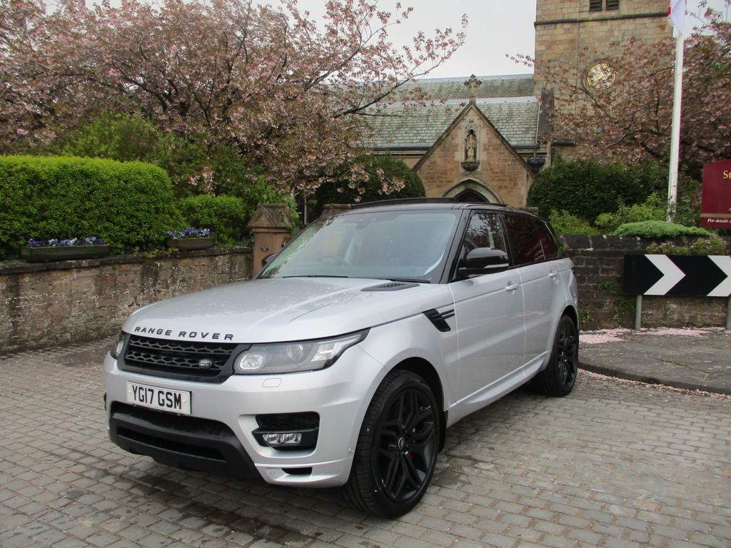 Land Rover Range Rover Sport SUV 3.0 SD V6 Autobiography Dynamic CommandShift 2 4WD (s/s) 5dr