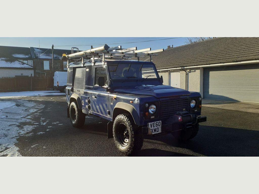 Land Rover Defender 110 SUV 2.4 TDi Hard Top 3dr
