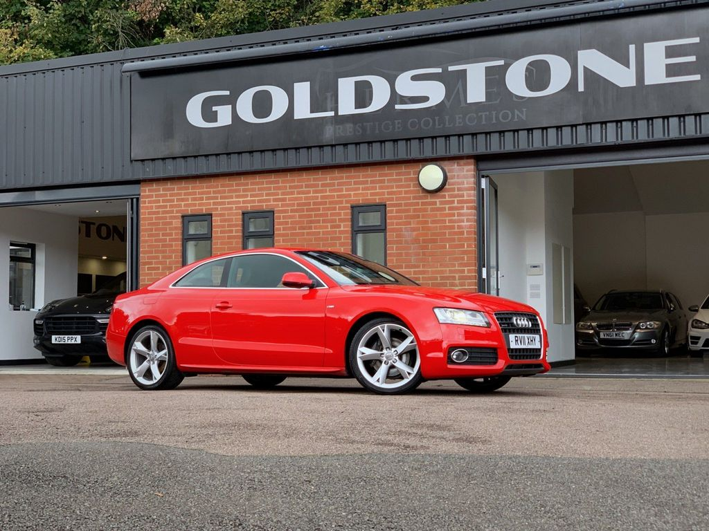 Audi A5 Coupe 2.0 TFSI S line quattro 2dr