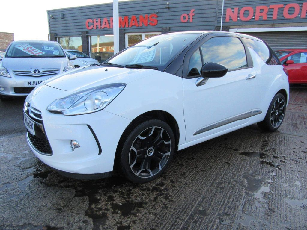 Citroen DS3 Hatchback 1.6 DStyle 3dr
