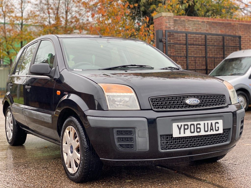 Ford Fusion Hatchback 1.4 Style Climate 5dr