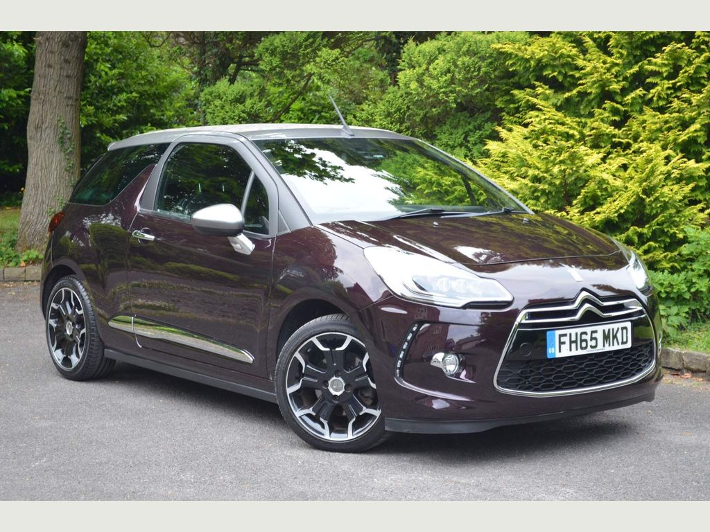 DS AUTOMOBILES DS 3 CABRIO Convertible 1.6 THP DSport Cabriolet (s/s) 2dr