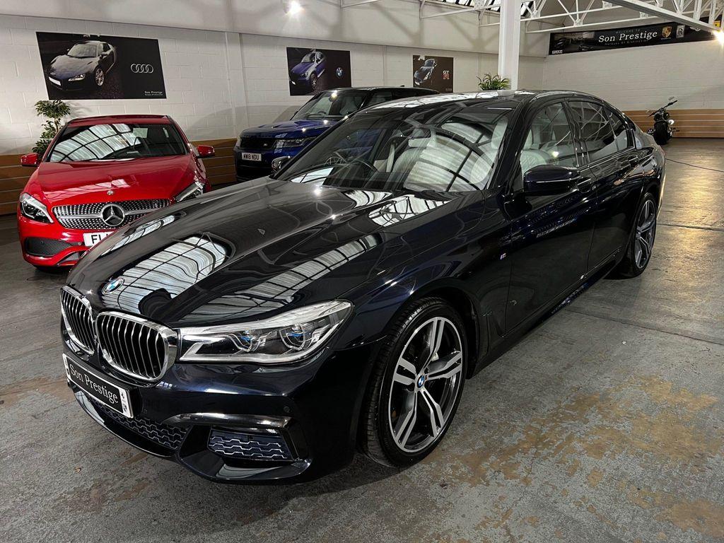 BMW 7 Series Saloon 3.0 740Ld Auto xDrive (s/s) 4dr
