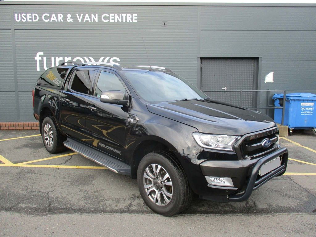FORD RANGER Pickup WILDTRAK 3.2 200 PS AUTO+TRUCKMAN TOP