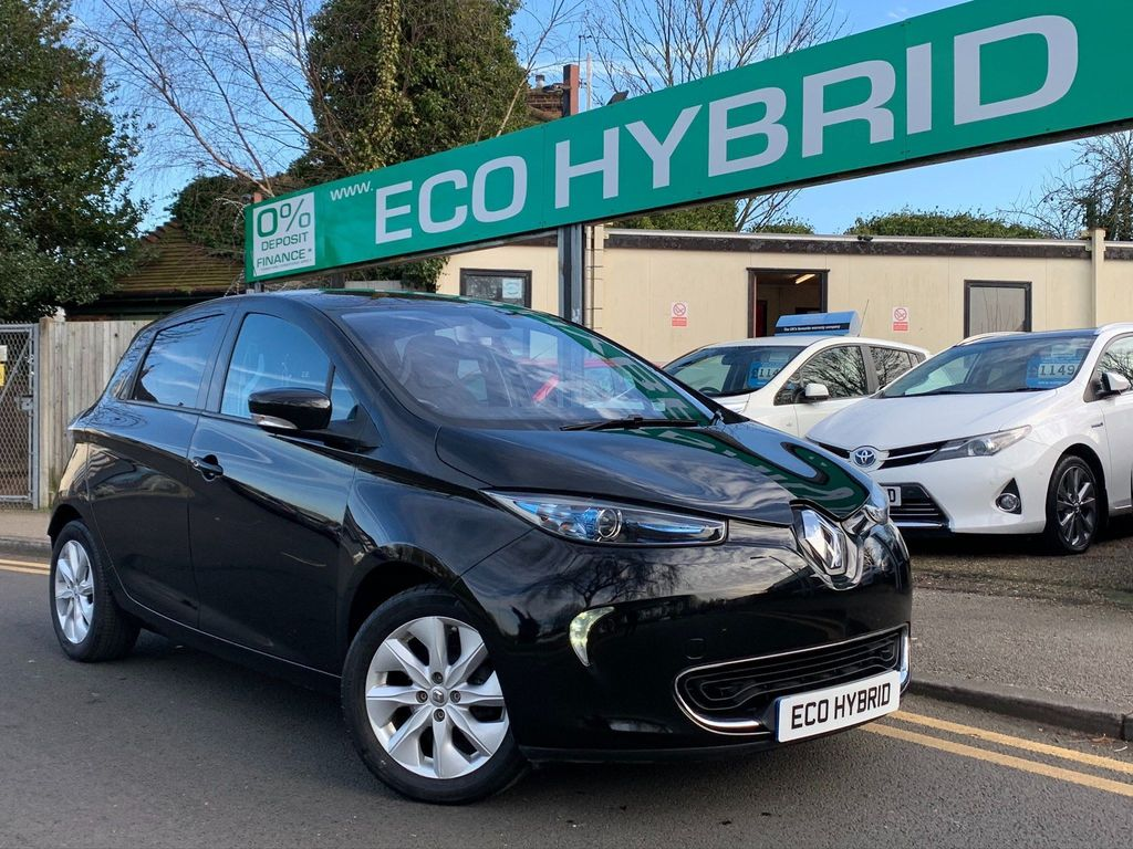 Renault Zoe Hatchback 22kWh Dynamique Intens Auto 5dr (Battery Lease)