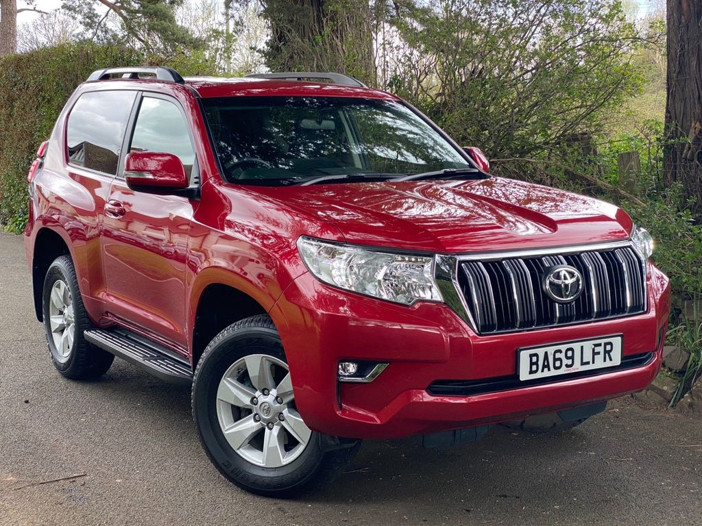 Toyota Land Cruiser SUV 2.8D Active Auto 4WD 3dr