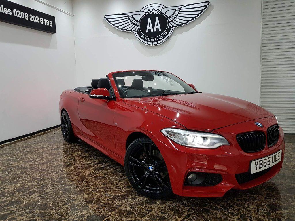 BMW 2 Series Convertible 2.0 220d M Sport Auto (s/s) 2dr