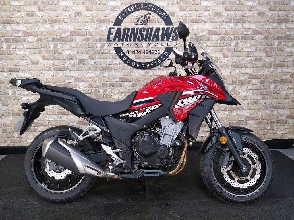 Honda CB500 Adventure 500 X ABS