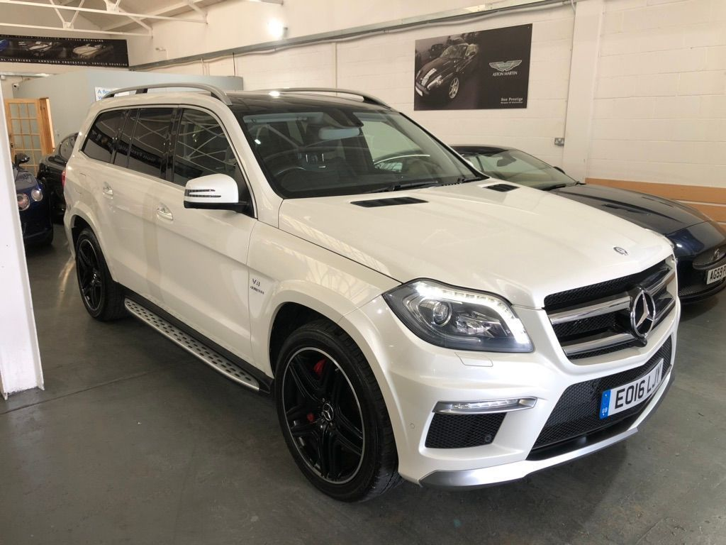Mercedes-Benz GL Class SUV 5.5 GL63 AMG 4MATIC 5dr