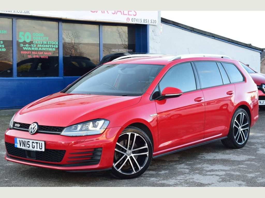 Volkswagen Golf Estate 2.0 TDI Bluemotion Tech GTD DSG (s/s)