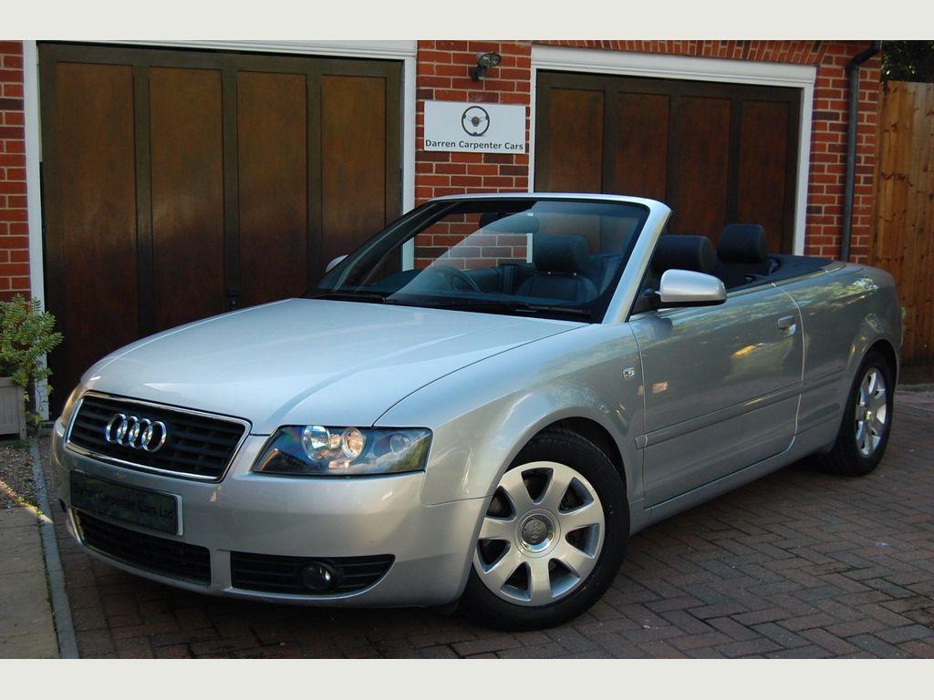 Audi A4 Cabriolet Convertible 2.4 Cabriolet 2dr
