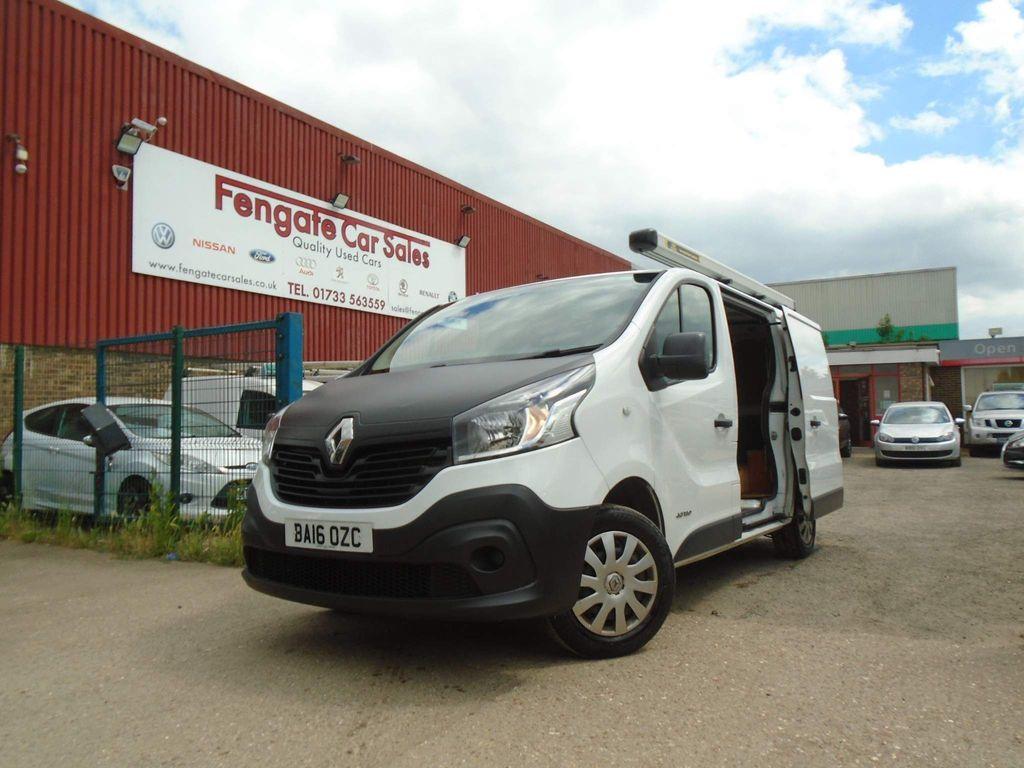 Renault Trafic Panel Van 1.6 dCi 27 Business SWB Standard Roof EU6 5dr