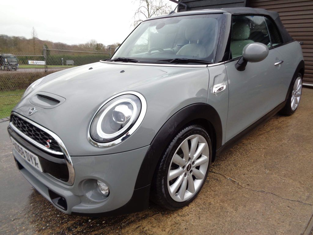 MINI Convertible Convertible 2.0 Cooper S Steptronic (s/s) 2dr