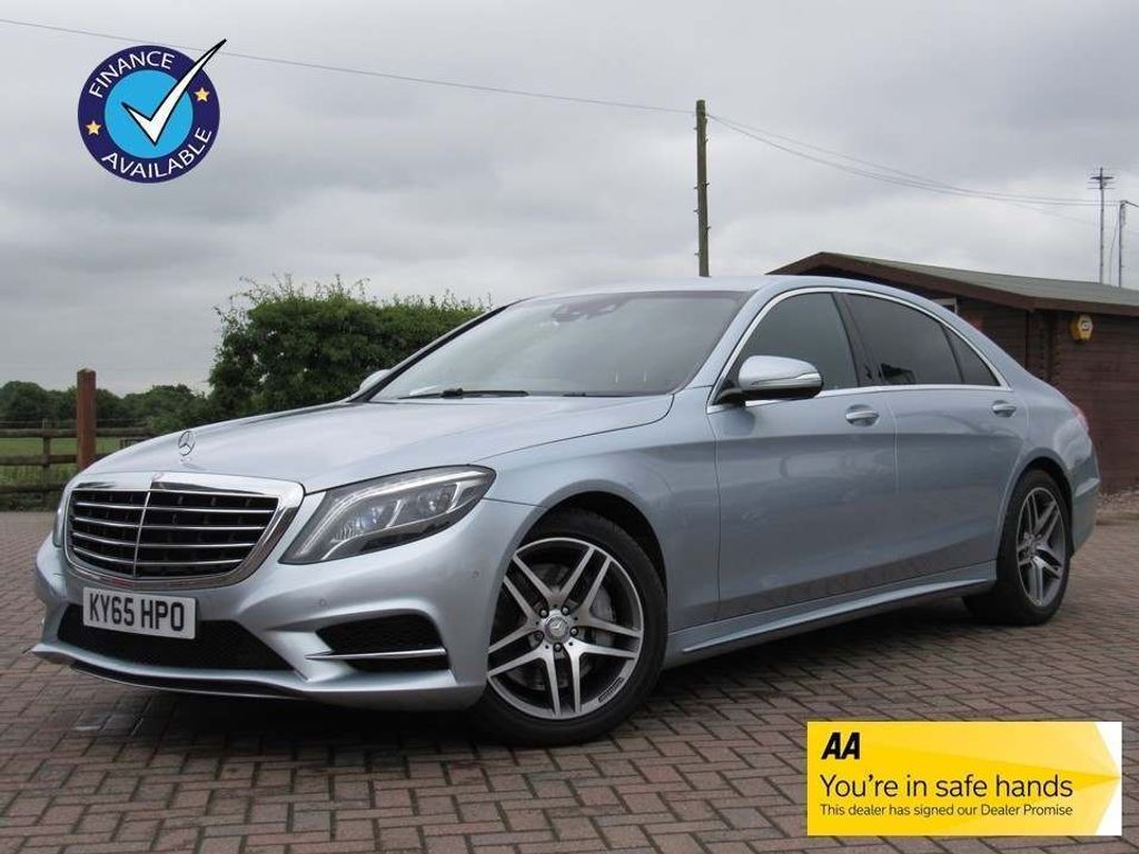 Mercedes-Benz S Class Saloon 3.5 S400L h AMG Line (Executive) 4dr