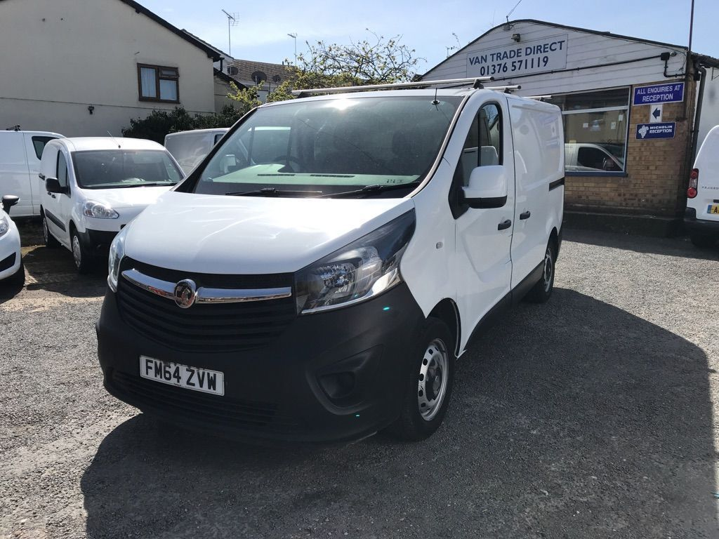 Vauxhall Vivaro Panel Van 1.6 CDTi 2900 ecoFLEX Panel Van 5dr Diesel Manual L1 H1 EU5 (s/s) (90 ps)