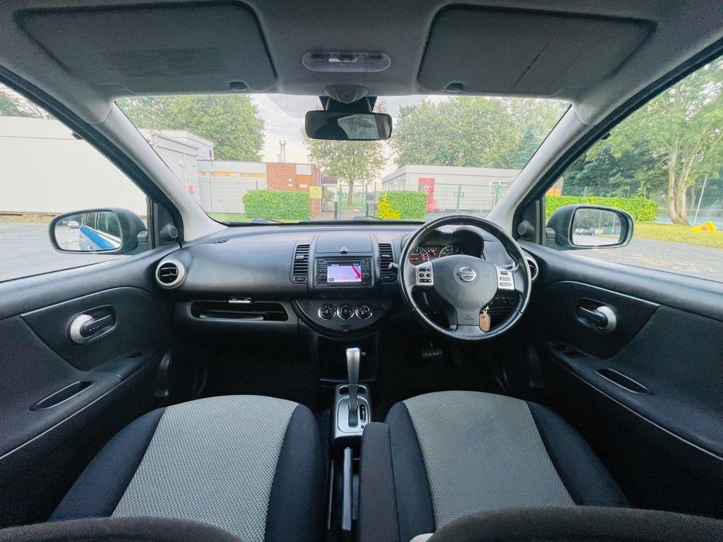 Nissan Note Hatchback 1.6 16V n-tec Auto 5dr