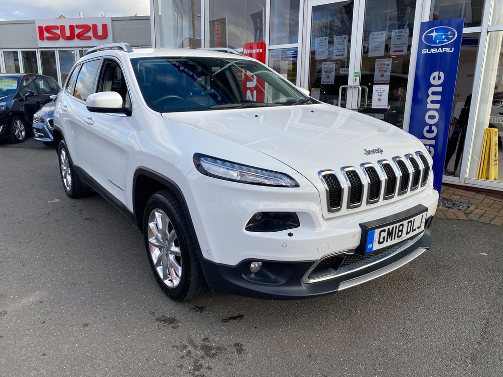 Jeep Cherokee SUV 2.2 MultiJetII Limited Auto 4WD (s/s) 5dr