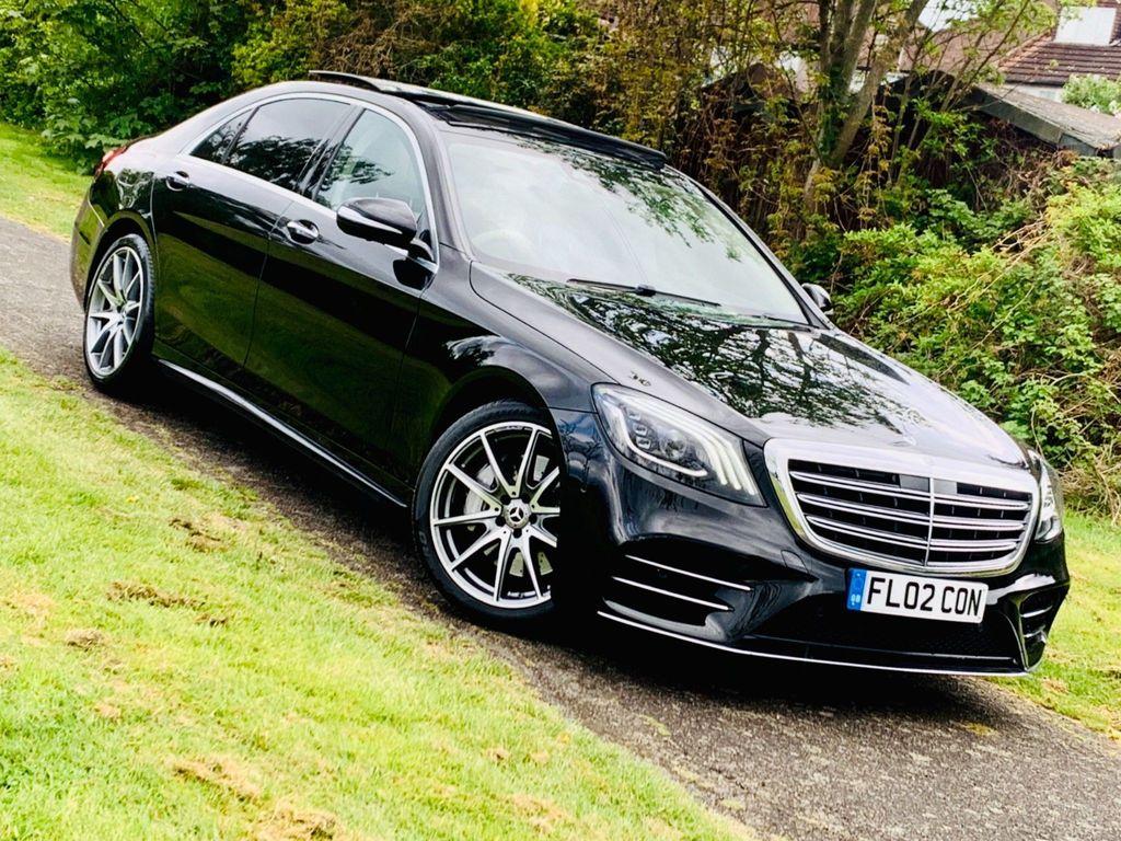 Mercedes-Benz S Class Saloon 3.0 S400L d AMG Line (Premium Plus) G-Tronic+ (s/s) 4dr