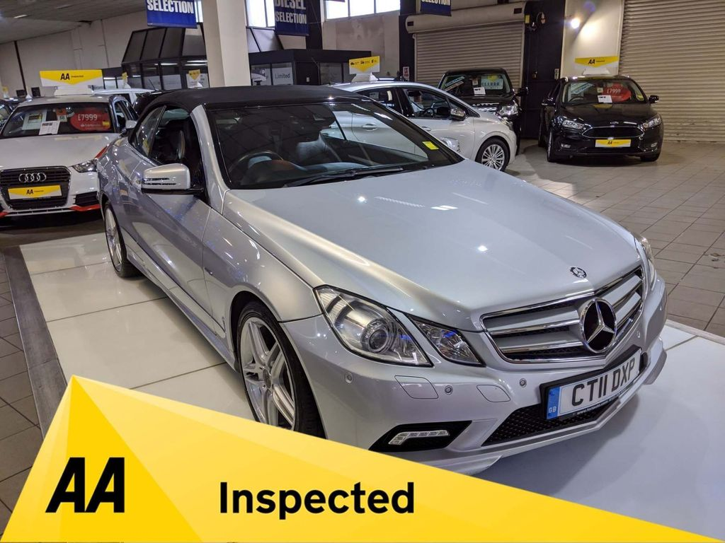 Mercedes-Benz E Class Convertible 1.8 E250 CGI BlueEFFICIENCY Sport Cabriolet 2dr