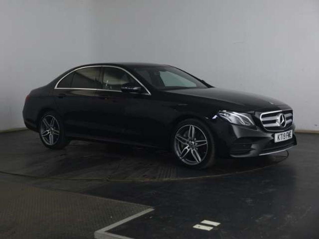 Mercedes-Benz E Class Saloon 3.0 E400d AMG Line G-Tronic+ 4MATIC (s/s) 4dr