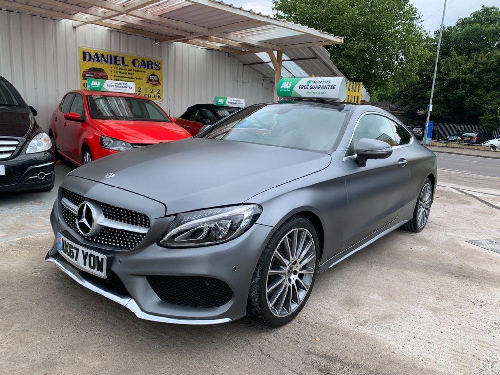 Mercedes-Benz C Class Coupe 2.1 C220d AMG Line (s/s) 2dr