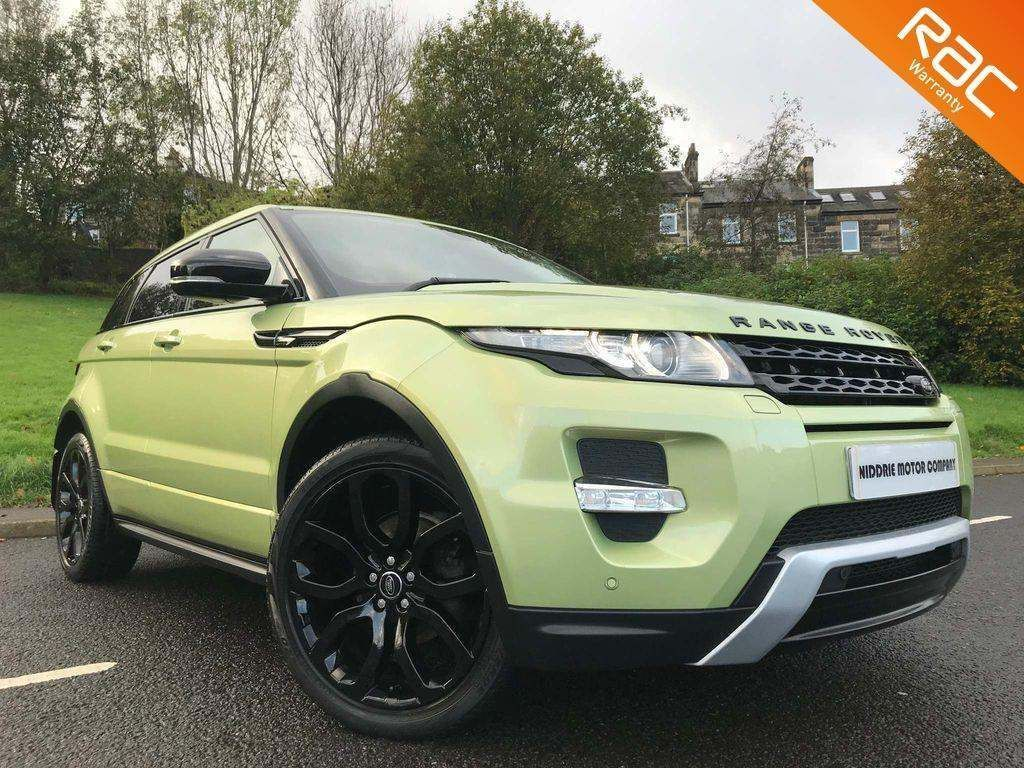 Land Rover Range Rover Evoque SUV 2.2 SD4 Dynamic AWD 5dr