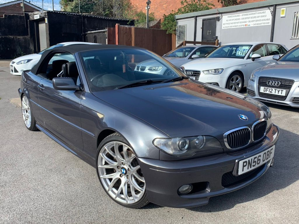 BMW 3 Series Convertible 2.0 320Cd M Sport 2dr