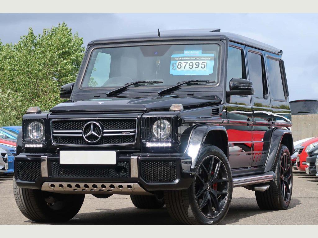 Mercedes-Benz G Class SUV 5.5 G63 BiTurbo AMG SpdS+7GT 4WD (s/s) 5dr EU5