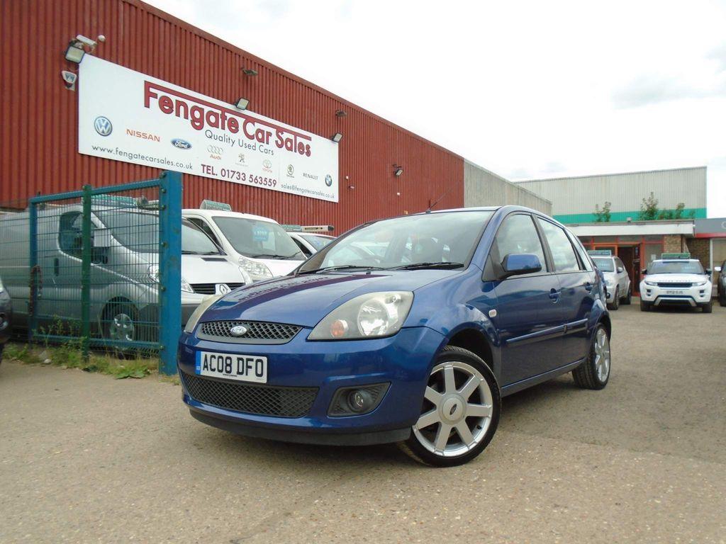 Ford Fiesta Hatchback 1.25 Zetec Blue Edition 5dr