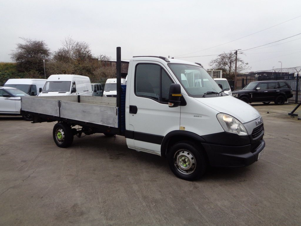 Iveco Daily Dropside 2.3 TD 35S11D LWB Agile Crewcab 4dr