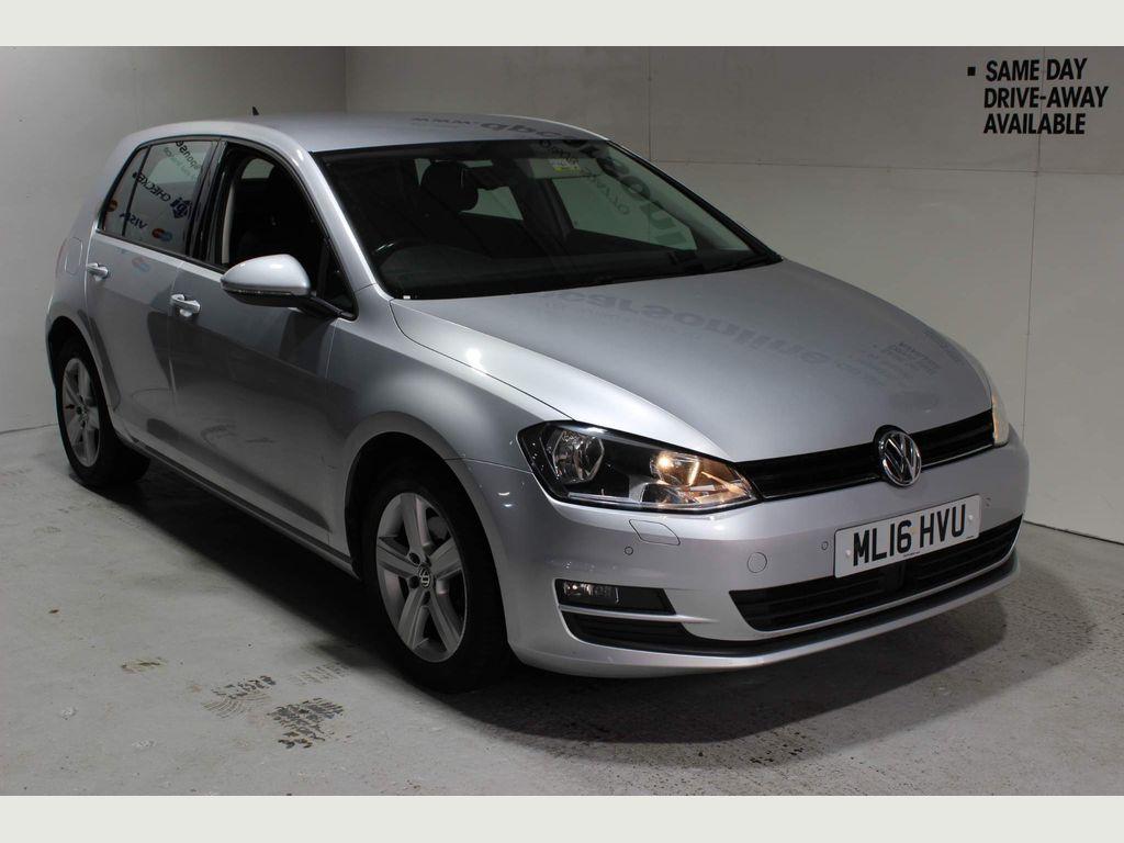 Volkswagen Golf Hatchback 1.6 TDI BlueMotion Tech Match Edition DSG (s/s) 5dr