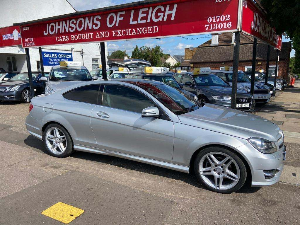 Mercedes-Benz C Class Coupe 2.1 C220 CDI AMG Sport Sport Coupe 7G-Tronic Plus 2dr
