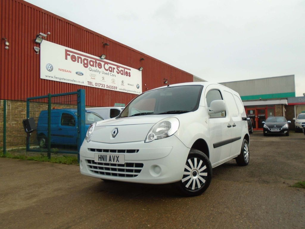 Renault Kangoo Car Derived Van ML19dCi 85+ Van 1.5 DIESEL MANUAL 4dr