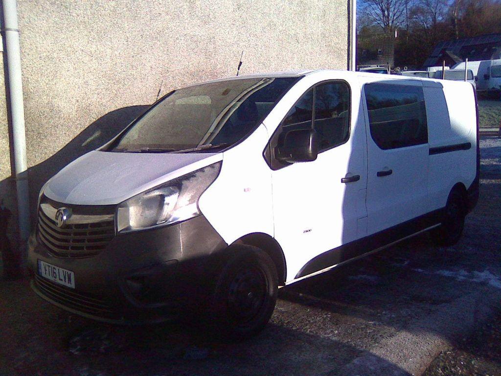 Vauxhall Vivaro Combi Van 1.6 CDTi 2900 BiTurbo ecoFLEX Crew Van L2 H1 EU6 (s/s) 5dr (6 Seat)