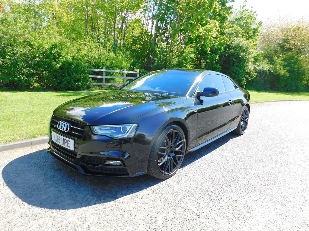 Audi A5 Coupe 2.0 TDI Black Edition Plus S Tronic quattro 2dr