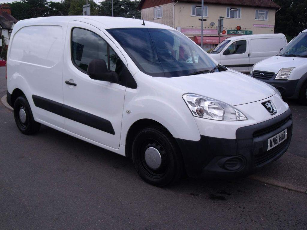 Peugeot Partner Panel Van 1.6 HDi S L1 850 SWB 4dr