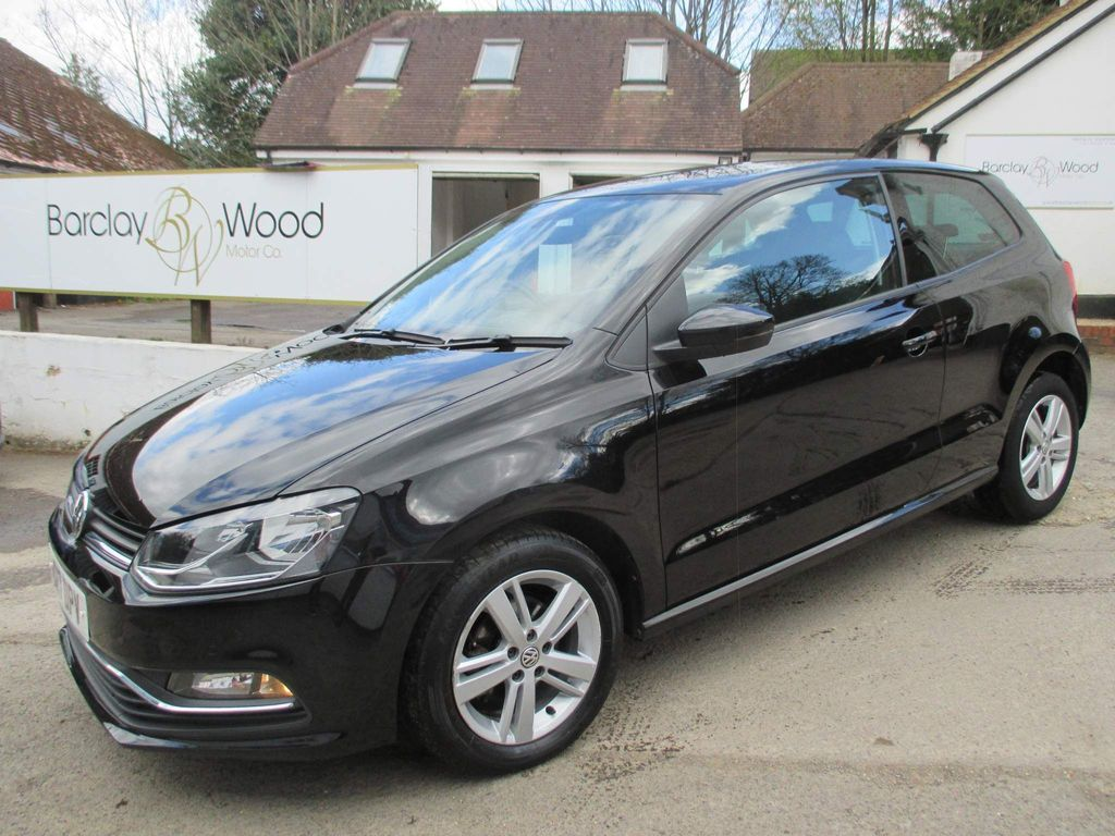 Volkswagen Polo Hatchback 1.2 TSI Match Edition (s/s) 3dr