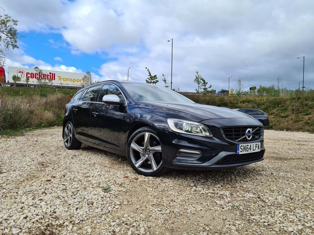 Volvo V60 Estate 2.4 D5 R-Design Nav Geartronic 5dr