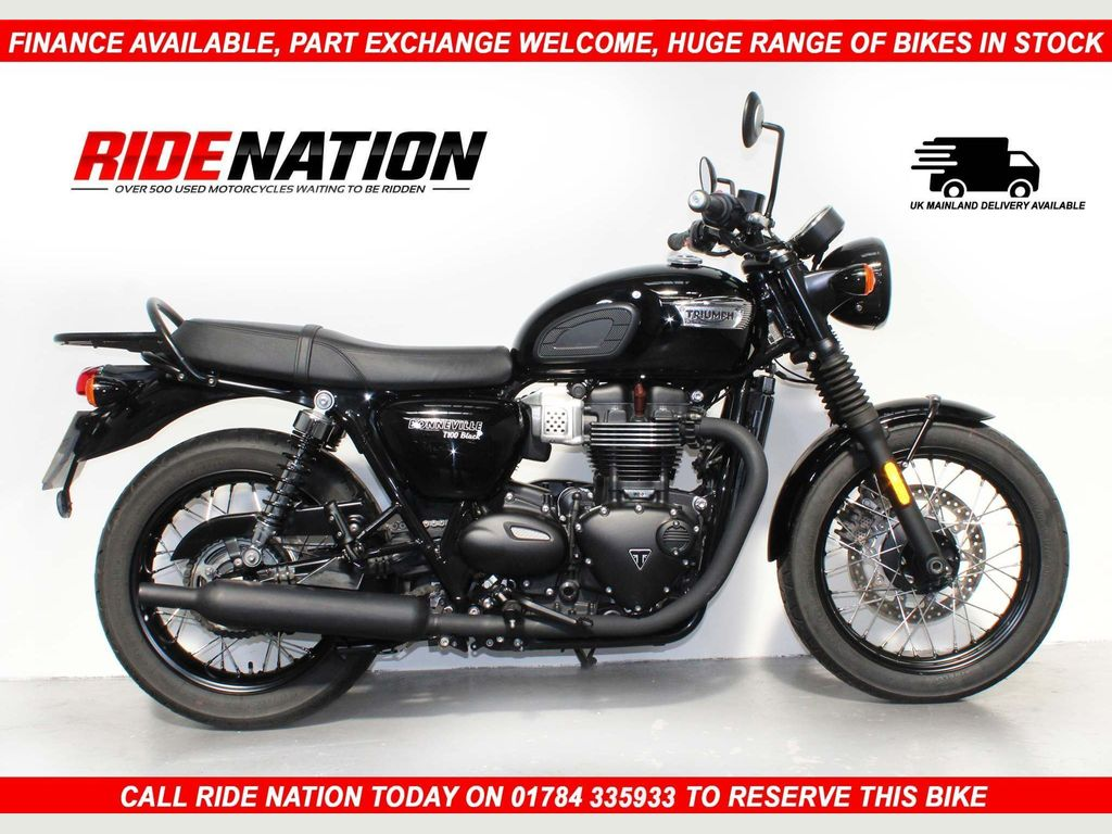Triumph Bonneville T100 Roadster/Retro 900 T100 Black